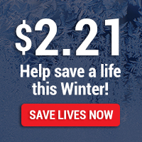 Help save a life this Winter!